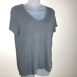 Large Gray Short Sleeve T-Shirt